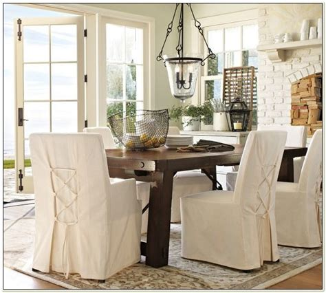 Pottery Barn Chair Covers