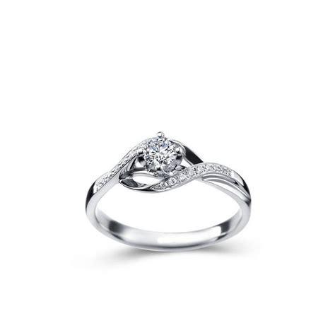 1 3 carat engagement ring on 10k white gold