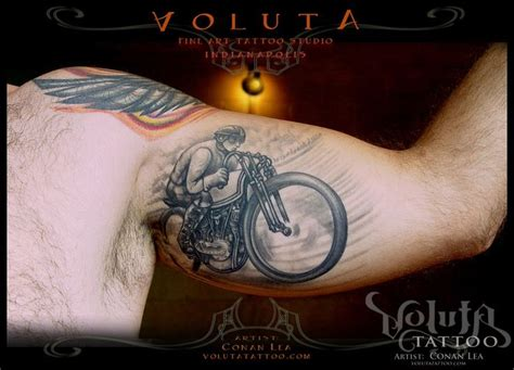glory tattoo jakarta board tracker motorcycle tattoo completed tattoos by