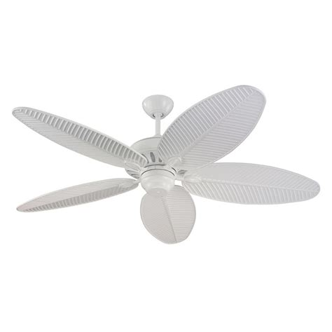 outdoor ceiling fans without lights outdoor ceiling fan without light in white finish