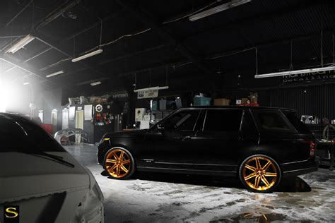black and gold range rover range rover savini wheels