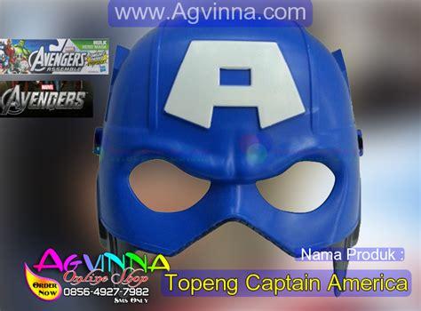Topeng Perisai Capt Amerika agvinna shop