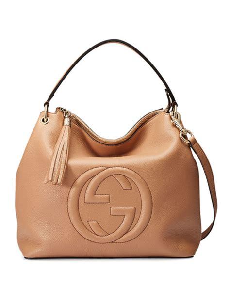 Mulberry Soho Leather Hobo Bag by Gucci Soho Large Leather Hobo Bag Camelia Neiman