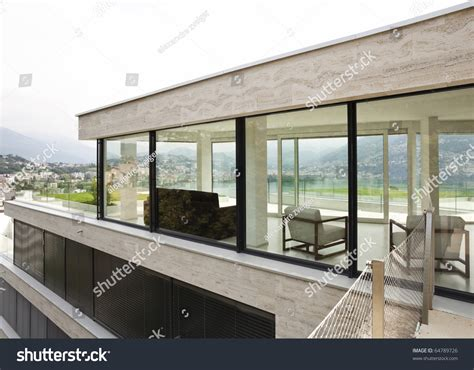 beautiful house windows beautiful modern house exterior windows stock photo 64789726 shutterstock
