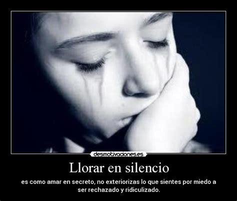 Imagenes Para Reflexionar Y Llorar | llorar en silencio desmotivaciones