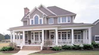 House Plans With Large Front Porch by Home Plans With Porches Home Designs With Porches From