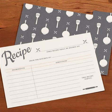 Recipe Card Template Pdf by 8 Free Recipe Card Templates Excel Pdf Formats