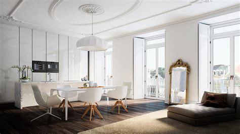 Unique Design Apartment Lisbon | architectural rendering architectural rendering