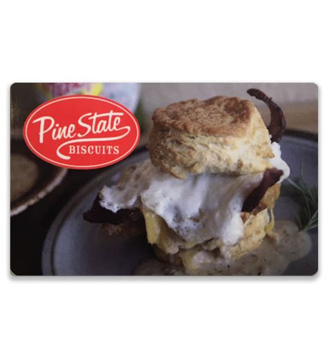 Usps Gift Card - pine state biscuits gift card