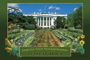 White House Vegetable Garden go green white house vegetable garden