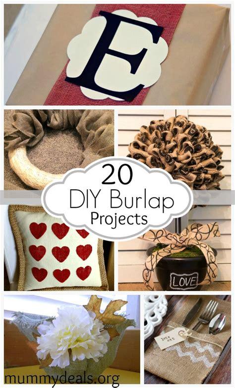 burlap diy projects diy burlap projects mummy deals