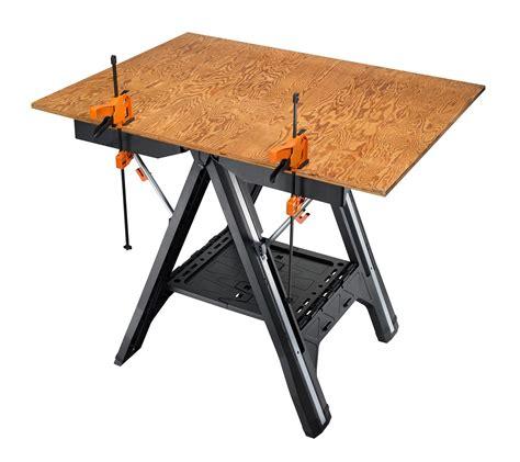 worx pegasus multi function work table worx pegasus multi function work table and sawhorse with