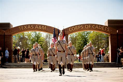 offers galore help marine single dad in corps of cadets texas a m