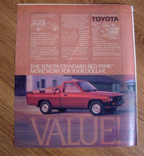vintage toyota ad 100 vintage toyota ad 1986 toyota mr2 vs 1985