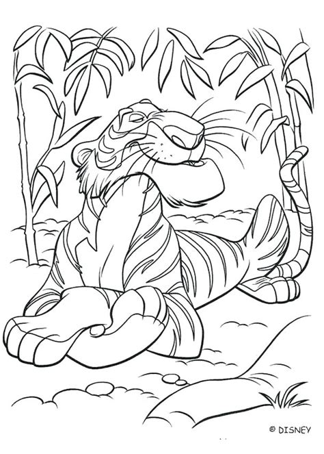 jungle coloring pages for preschoolers jungle book 2 coloring pages gopitch co