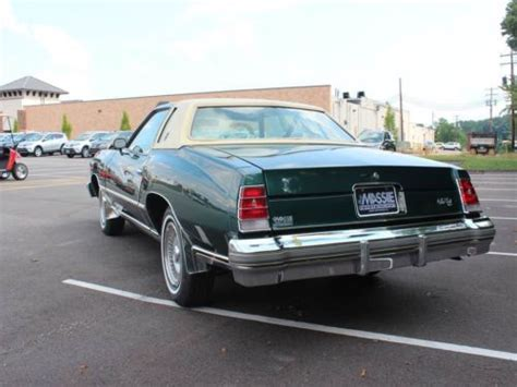 Purchase Used Like New 1977 Chevrolet Monte Carlo Landau