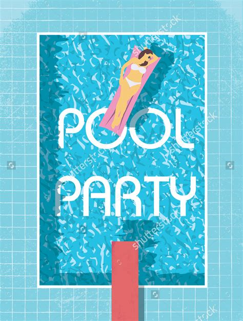 free pool flyer templates 10 pool flyer designs design trends premium psd vector downloads