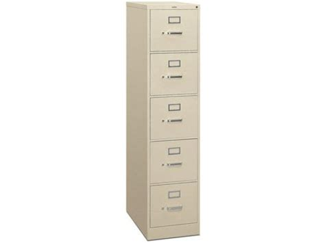 5 Drawer Vertical File Cabinet by 5 Drawer Letter Vertical File Cabinet Hon 315p Metal File