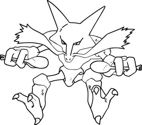 pokemon coloring pages alakazam pokemon alakazam coloring pages images pokemon images