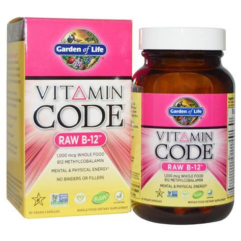 Garden Of Vitamin Code For by Garden Of Vitamin Code B 12 30 Vegan Caps