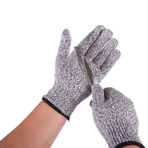 Sarung Tangan Tahan Api sarung tangan keselamatan tahan goresan pisau gray black