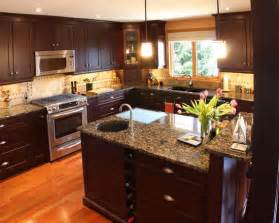 Description dark kitchen cabinets design pictures remodel decor