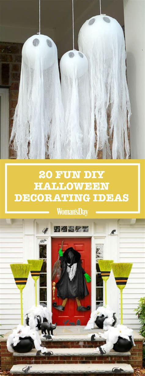 home made holloween decorations 40 easy diy halloween decoration ideas homemade