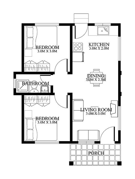 modern home design floor plans small home designs floor plans small house design shd 2012001 eplans modern house
