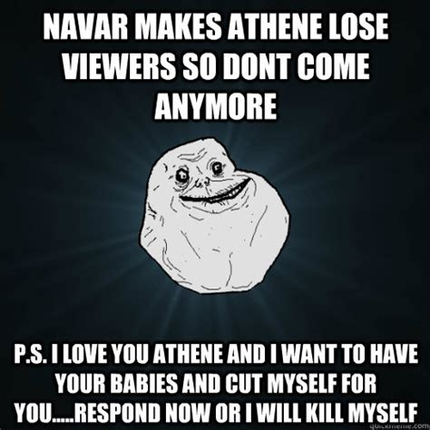 navar  athene lose viewers  dont  anymore ps