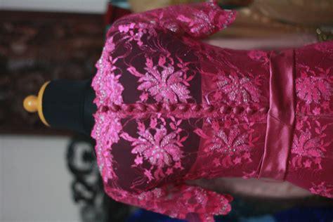 Dress Pesta Solemio Bunga Fanta batik penjahit kebaya 021 99001089