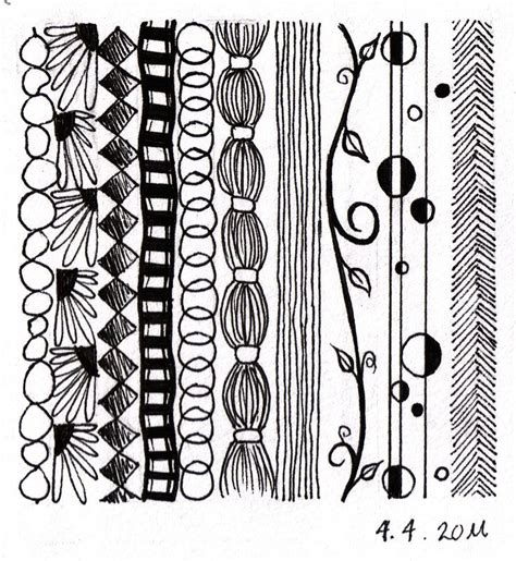 how to draw doodle borders doodle borders zentangles and doodling