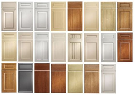 kitchen cabinet door types thermofoil cabinet doors drawer fronts replacement
