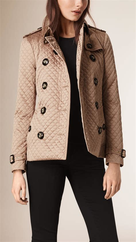 Burberry Quilt Jacket by Burberry Quilted Trench Jacket In Lyst
