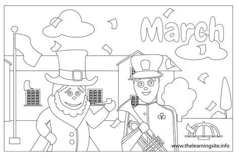 monthly coloring pages bestofcoloring com
