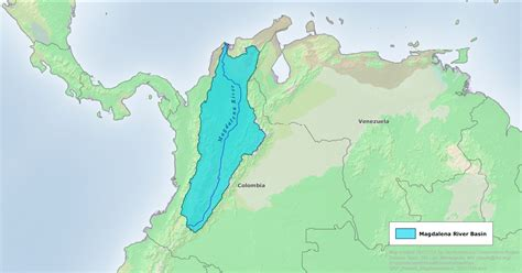 south america map basin the magdalena and the master plan los angeles review