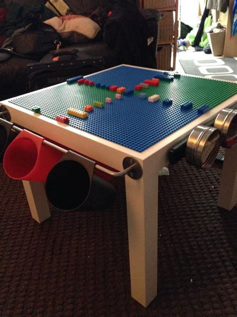 ikea lego table hack lego ikea hack or how to make a happy kid this christmas