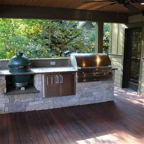 The Backyard Kitchen Green Egg Cooking Station Google Search Back Porch