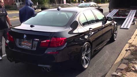 On Black brand new bmw m5 f10 black on black