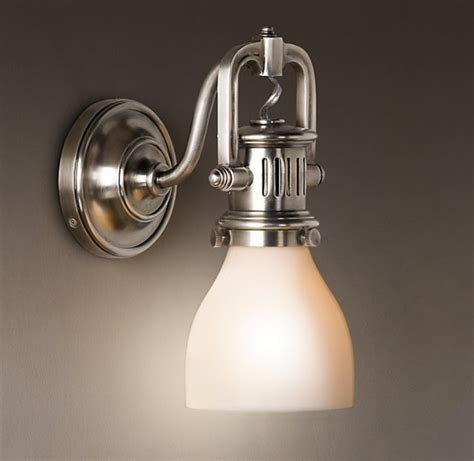 bathroom sconce lighting ideas 1920s factory sconce wall l bathroom lighting ideas
