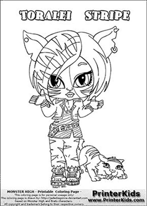 monster high chibi coloring pages this printable colouring sheet show a cute baby or chibi