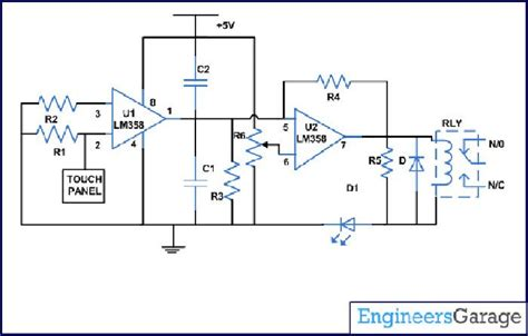 capacitor circuit with switch op applications circuits features of inverting and non inverting op input