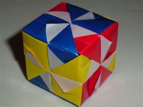 Origami Sonobe Cube - origami photos sonobe cube
