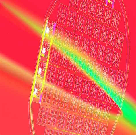 Sirwal Begy Jumbo Canvas Wafer silicon wafer photograph by chris knapton