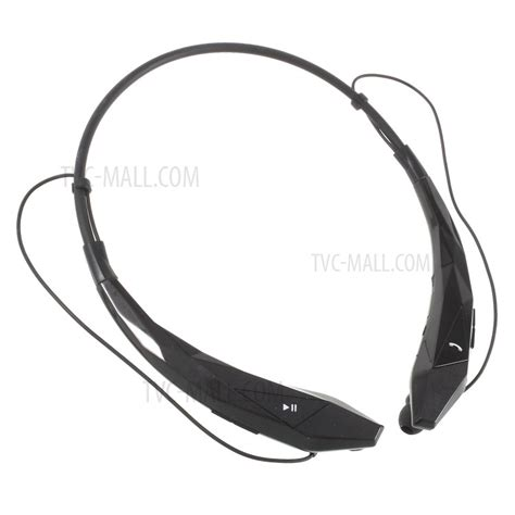 Bluetooth V4 0 Headset Black hb 902 wireless bluetooth v4 0 sports stereo headset