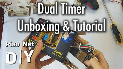 pisonet timer pisonet diy dual timer unboxing and tutorial tagalog