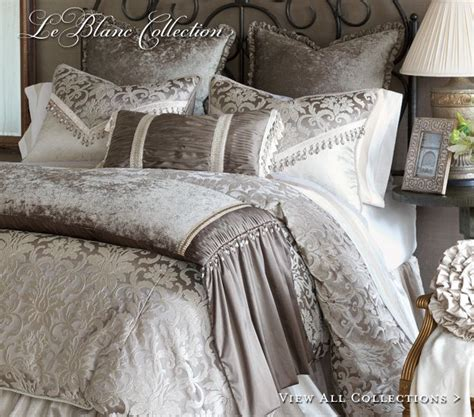 luxury bed linens marquise luxury bedding by eastern accents draperii