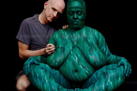 by craig tracy the process craig tracy s bodypainting gallery