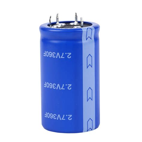 charging a 1 farad capacitor 2 7v 360f 360farad ultracapacitor supercapacitor farad capacitor ebay