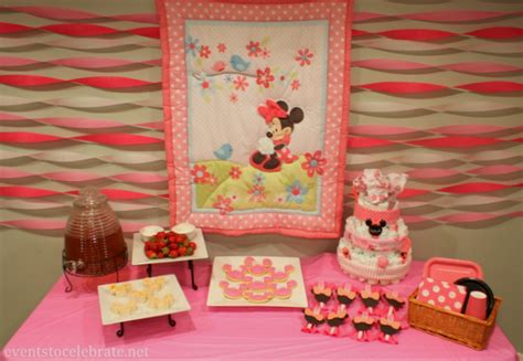 Minnie Mouse Baby Shower Decorations Ideas by Minnie Mouse Decorations For Baby Shower 808