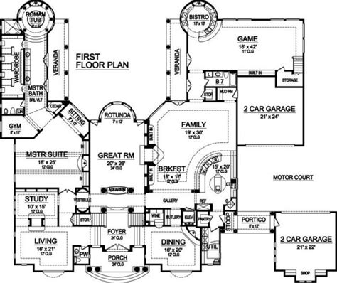 2 story villa floor plans villa deste best selling courtyard house home plans